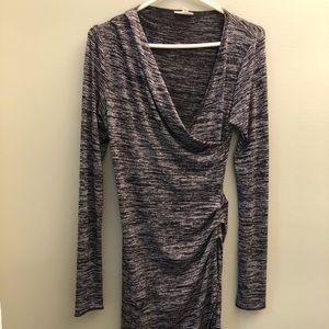 Wilfred free grey dress. ARITZIA.